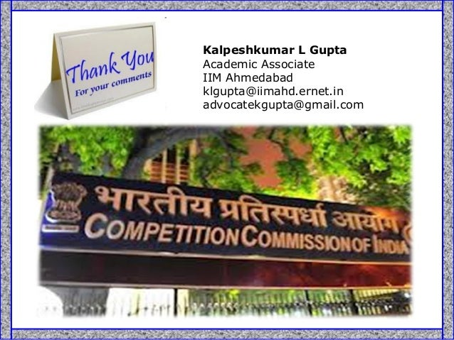 competition commission of india Competition commission of india's wiki: competition commission of india is a body of the government of india responsible for enforcing the competition act, 2002 throughout india and to.