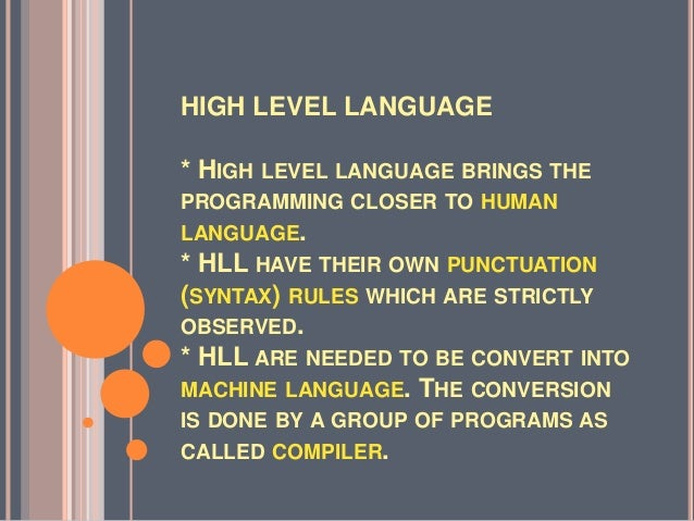 highlavel language Living in the world today requires giving up a lot of control we give up control of our financial lives to banks and unaccountable credit bureaus we give up control of our most intimate data to use online services like facebook, amazon, and google.