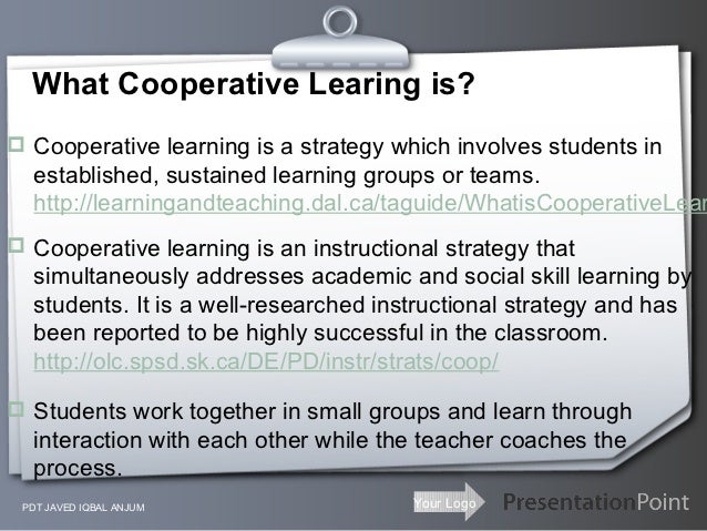 Presentation On Cooperative Learning