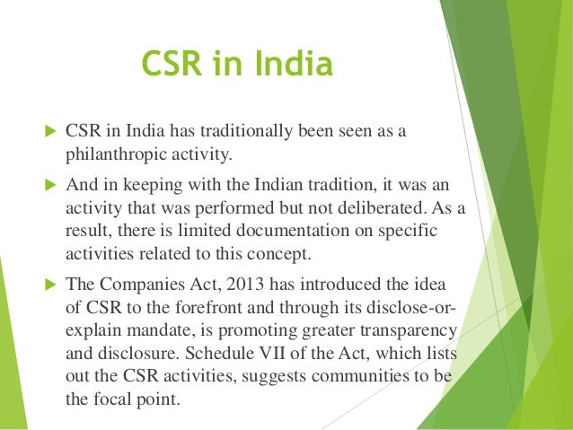 corporate social responsibility activities at infosys Corporate social responsibility- definitions  minority employment and related corporate activities corporate social responsibility in india  infosys promoted,.