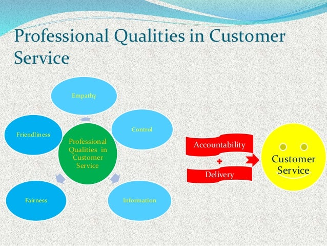 qualities of a customer care
