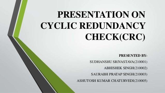 Recover data cyclic redundancy check
