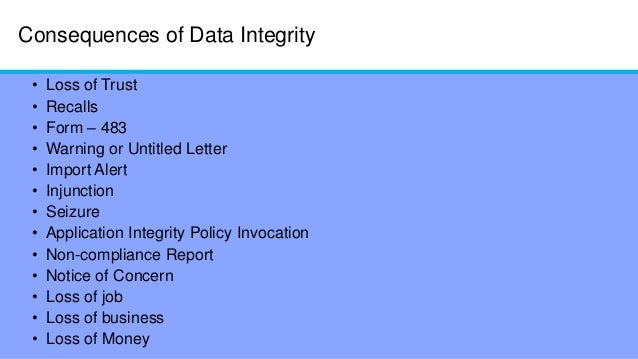 data security quality and integrity regulations and High-quality data are the precondition for analyzing and using big data and for guaranteeing the value of the data currently, comprehensive analysis and research of quality standards and quality assessment methods for big data are lacking first, this paper summarizes reviews of data quality.