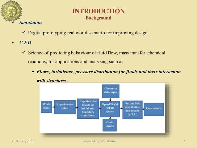 Presentation on Computational fluid dynamic smulation and benchmarkin…