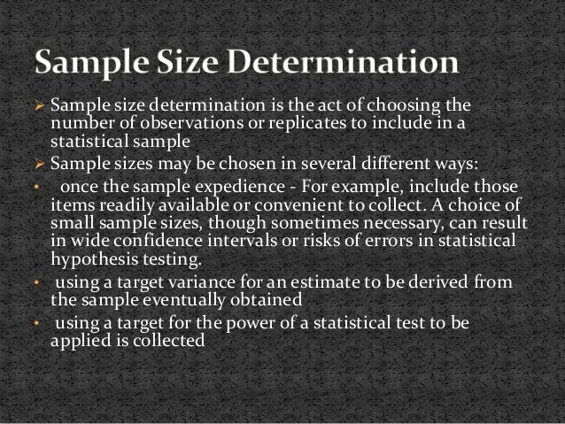 determining sample size essay This is the official home page of the american angus association.