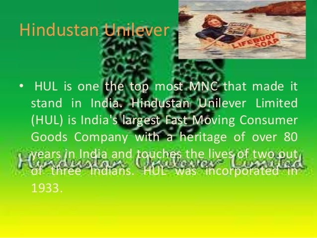 hindustan unilever distribution channel Find details on hindustan unilever company profile, share,  the company has a distribution channel of 63 million outlets and owns 35 major  hindustan lever.