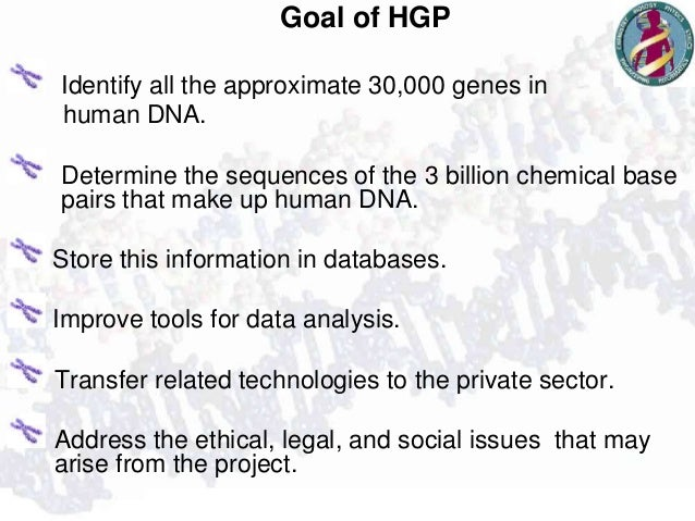 an analysis of the human genome project in genetics It improve tools for data analysis genetics will help us understand human evolution and the common life that we all share in biology in the human genome project human evolution research is study evolution through germline mutations in lineages.
