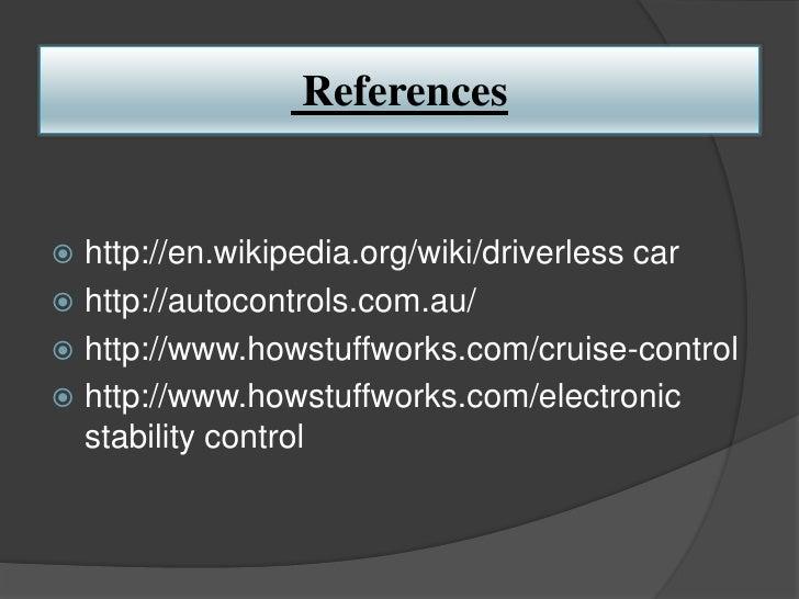 Presentation on driverless cars by shahin hussan