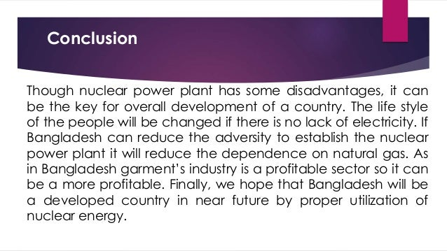 nuclear power presentation (disadvantage) essay Advantages and disadvantages of nuclear power slideshare uses cookies to improve functionality and performance, and to provide you with relevant advertising if you continue browsing the site, you agree to the use of cookies on this website.