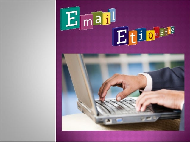  Gone  are the days when business dealings were primarily handled in-person or over the phone; email is the preferred met...