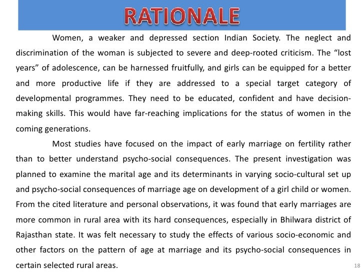 early marriage essay conclusion Overview about early marriage: if you are the original writer of this essay and no longer wish to have the essay published on the uk essays website then please.