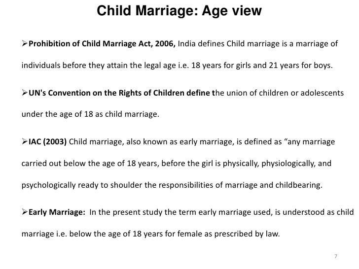 essay disadvantages early marriage Child marriage means that two children are forced to marry each other with the consent of the two families  essay on child marriage in india (700 words.