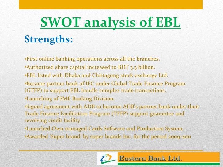 swot analysis of dhaka bank ltd Read this essay on performance analysis of standard bank bd ltd  swot analysis,  dhaka – 1342.