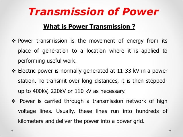 What Is Transmission >> Construction Ehv Transmission Line