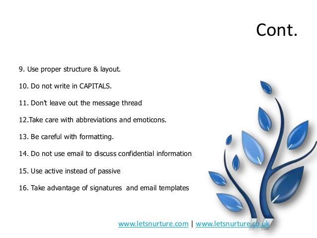 Presentation on email etiquettes 11 altavistaventures Images