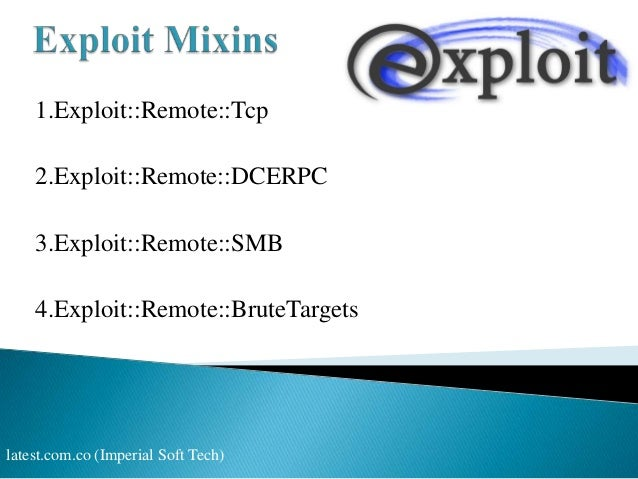 Introduction of exploit on window XP & Trick