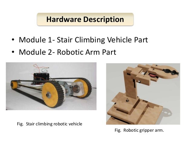Presentation On Fabrication Of A Stair Climbing Vehicle