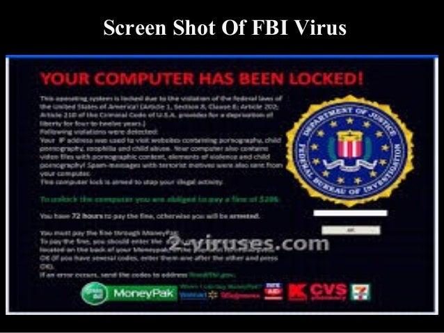 Presentation on FBI VIRUS