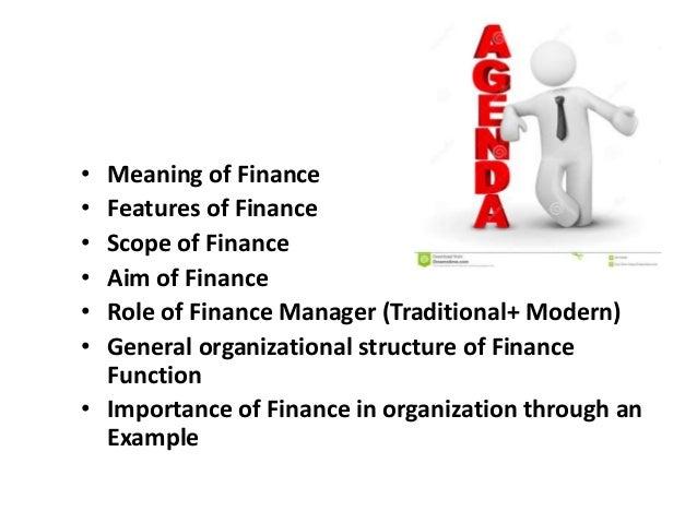 basics of finance Slide 3