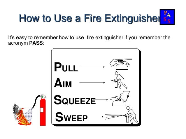 presentation on fire extinguisher