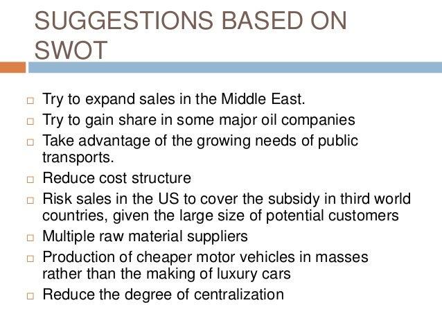 Presentation on ford motor company (pom)