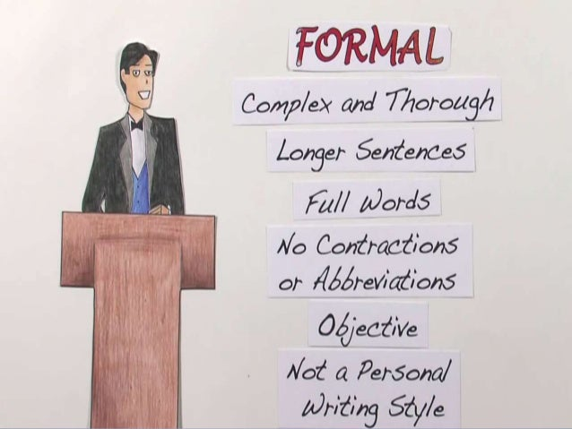 formal communication and informal communication