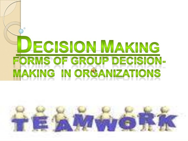CONCEPT OF DECISION-MAKING   Decision-making is a mental process where in  individuals evaluate the options available to t...