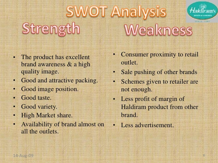 swot analysis of kurkure Swot analysis is based on thorough analysis of business (corporation, product category competition, customers and products) identifies and evaluates the internal strengths and weaknesses of the company well as its external threats and oppurtunities.