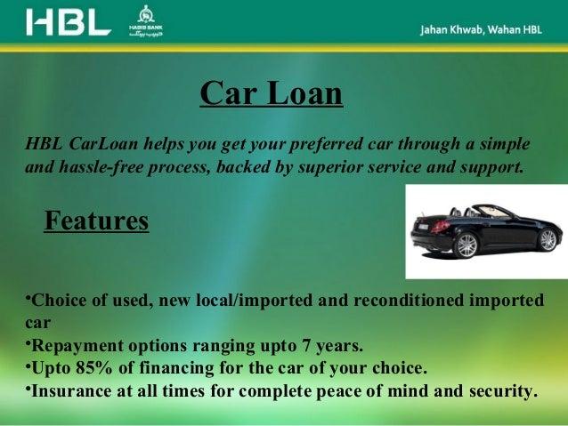 Presentation On HBL PPT