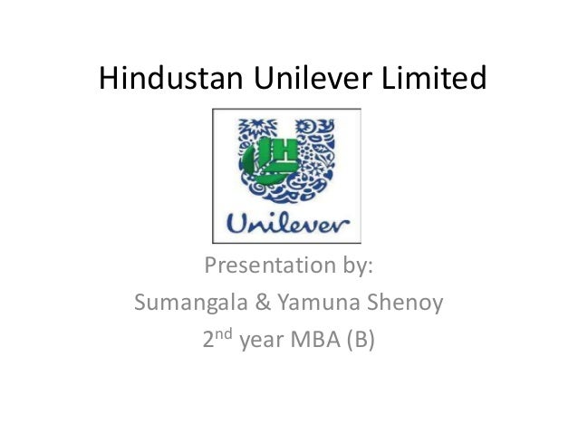 an introduction to hindustan unilever limited Hindustan unilever limited 1 by yasmincompanylogo 2 companylogo about unilever unilever is a british-dutch multinational consumer goods company its products includes foods, beverages, cleaning agents and personal care products it is the world's third largest consumer goods company (according to 2011 revenues) unilever is a dual listed company consisted of unil.