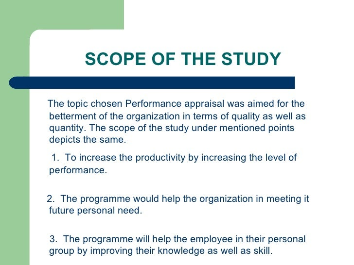 importance of performance appraisal