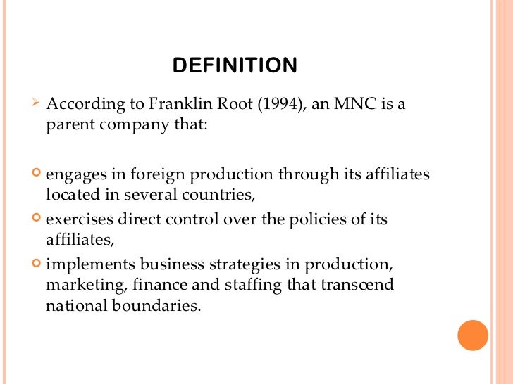 what is the definition of a parent company