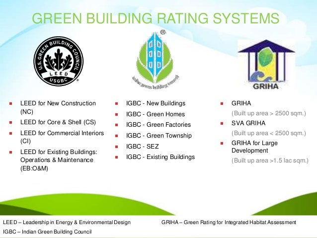 Presentation on igbc green homes by godrej january 2015 for Leed for homes rating system
