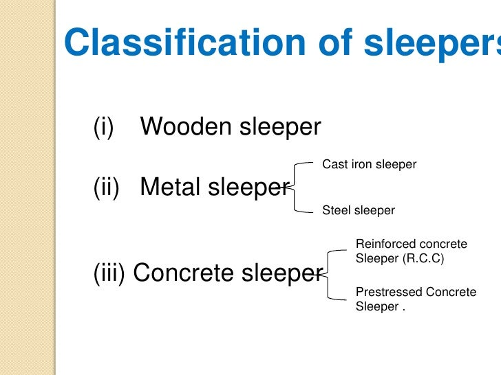 Types Of Sleepers In Railway Ppt Railway Noise Gijsjan Van