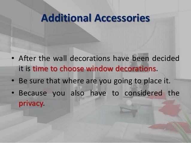 importance of interior design ppt slideshare