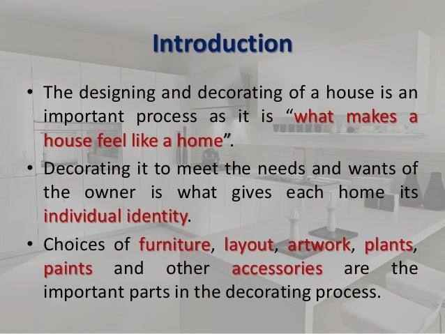 Presentation On Interior Designing