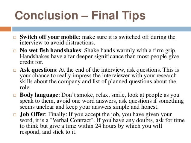 questions to ask for an interview essay