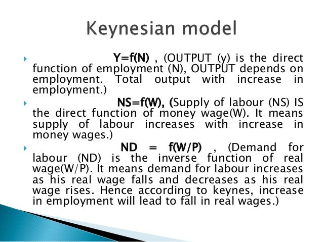 "the importance of the theory of keynesian economics Hence one of the most important although the policy measures suggested by the keynesian theory may not be ""whether keynesian economics is."