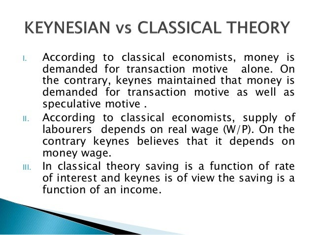 classical theory of output and employment Income and employment theorystructure of the theorysynthesis of keynesian and classical modelsbibliography source for information on income and employment theory: international encyclopedia of the social sciences dictionary.