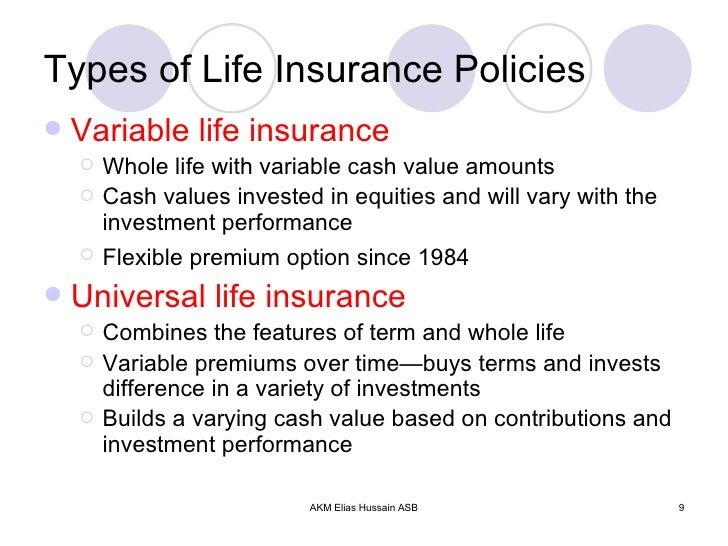 Presentation on Life Insurance vFund & Solvency Management