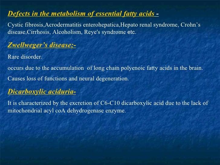 POLYENOIC FATTY ACIDS - Lipid