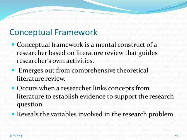 conceptual models dissertation