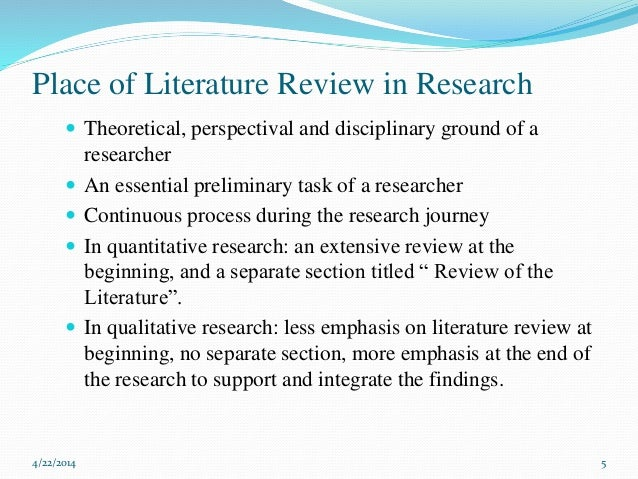 quantitative research in patient safety literature review The two main types of research are quantitative and qualitative any size of patient population quantitative and qualitative research article critique 7.