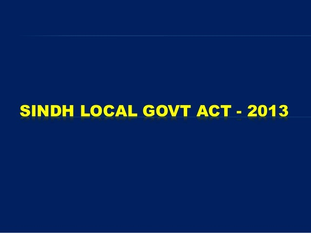 Local pdf ordinance sindh government 1979