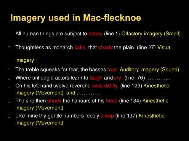 mac flecknoe critical essay