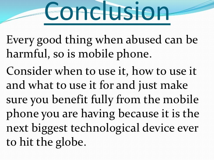 presentation on mobile phones 25