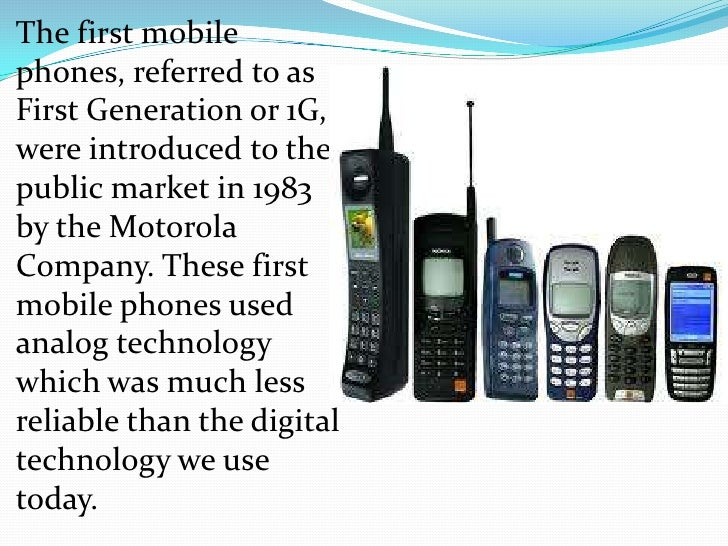 Advantages of mobile phones - the evolution of mobile phones