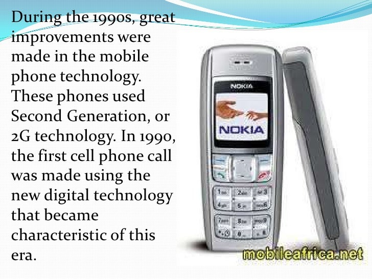 invention of mobile phone