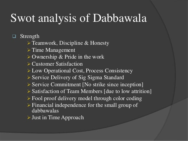 operation strategy of mumbai dabbawala