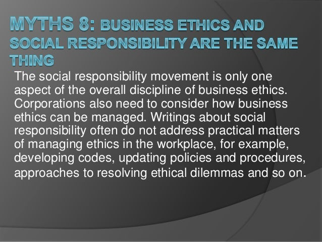 """Four """"myths"""" of the culture that challenge our ethics!"""